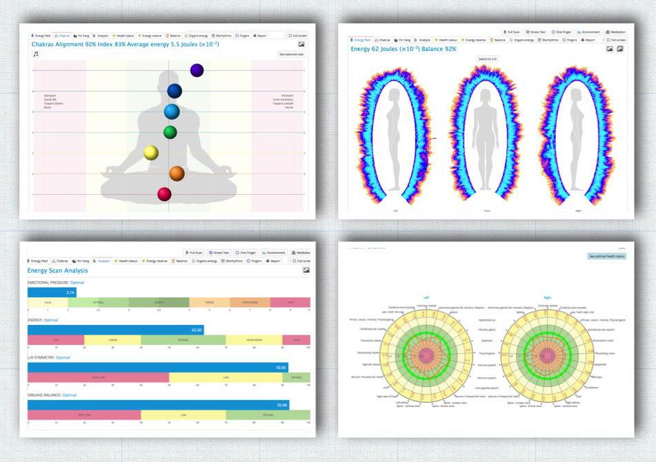 Bio-well charts