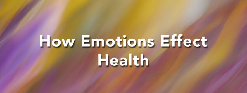 how emotions effect health