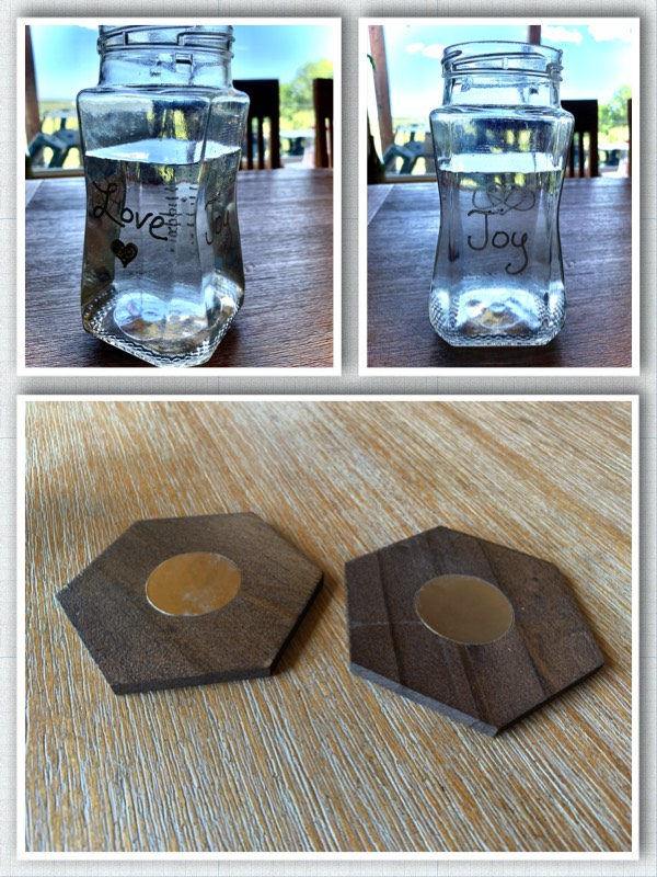 magnetic coasters to help polarity