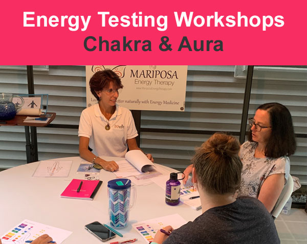 Chakra and aura testing