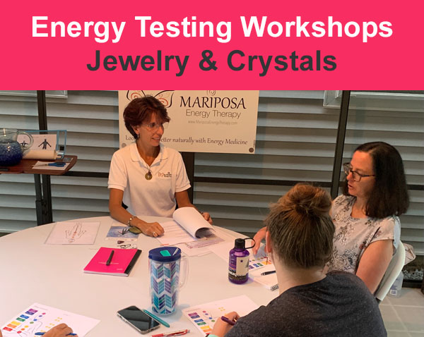 Jewelry and crystal workshop